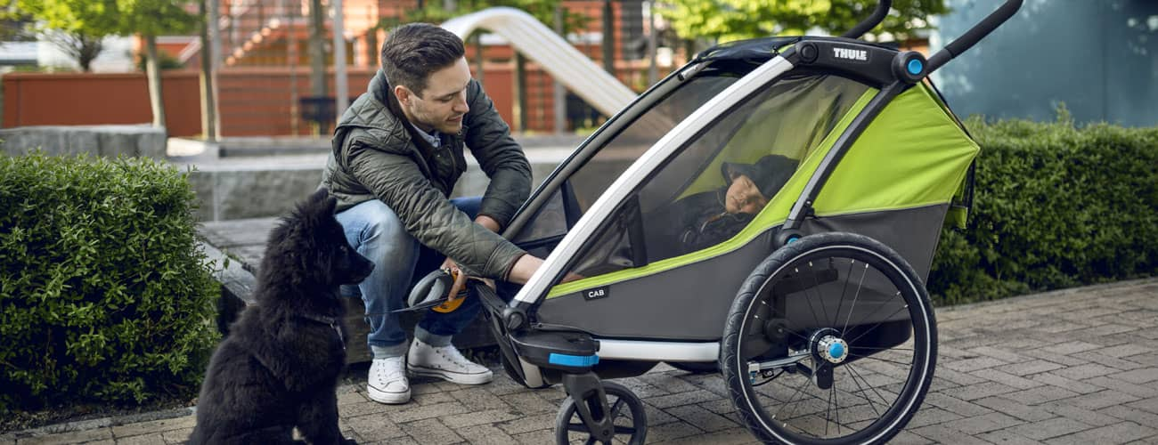 Kinderanhänger Thule Chariot Modell-Vergleich