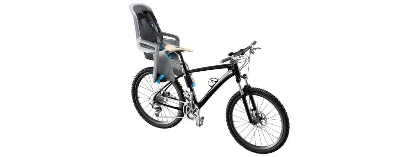 Fahrrad Kindersitz vorne oder hinten?