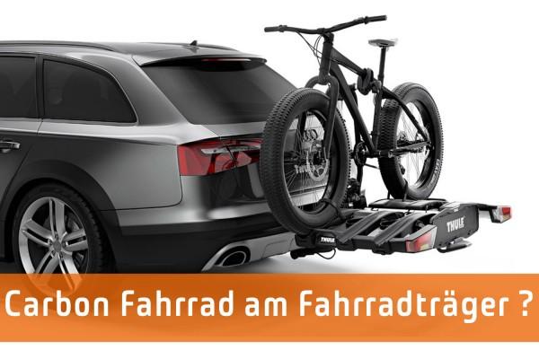 Fahrradträger bei Carbon Rahmen?