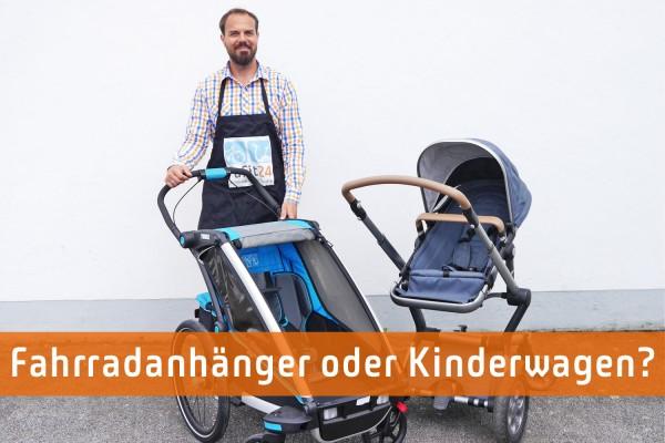 Fahrradanhänger als Kinderwagen-Ersatz?