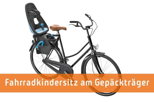Fahrradkindersitz für den Gepäckträger