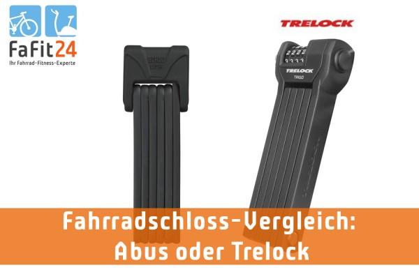 Fahrradschloss Vergleich – Abus vs. Trelock