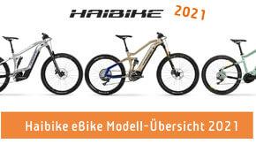 Haibike eBikes 2021 – Modellübersicht