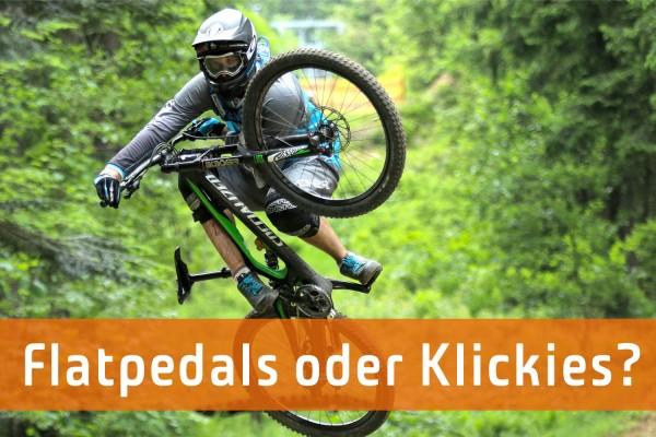 Fahrradpedal: Klickies oder Plattform Pedale?