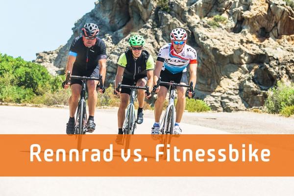 Rennrad vs. Fitnessbike