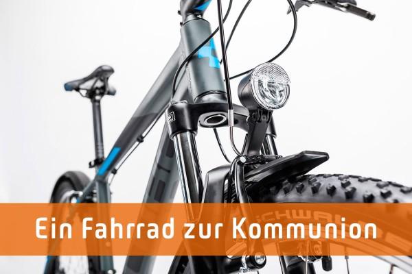 Fahrrad zur Kommunion