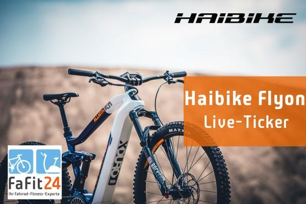 Haibike Flyon – Live Ticker