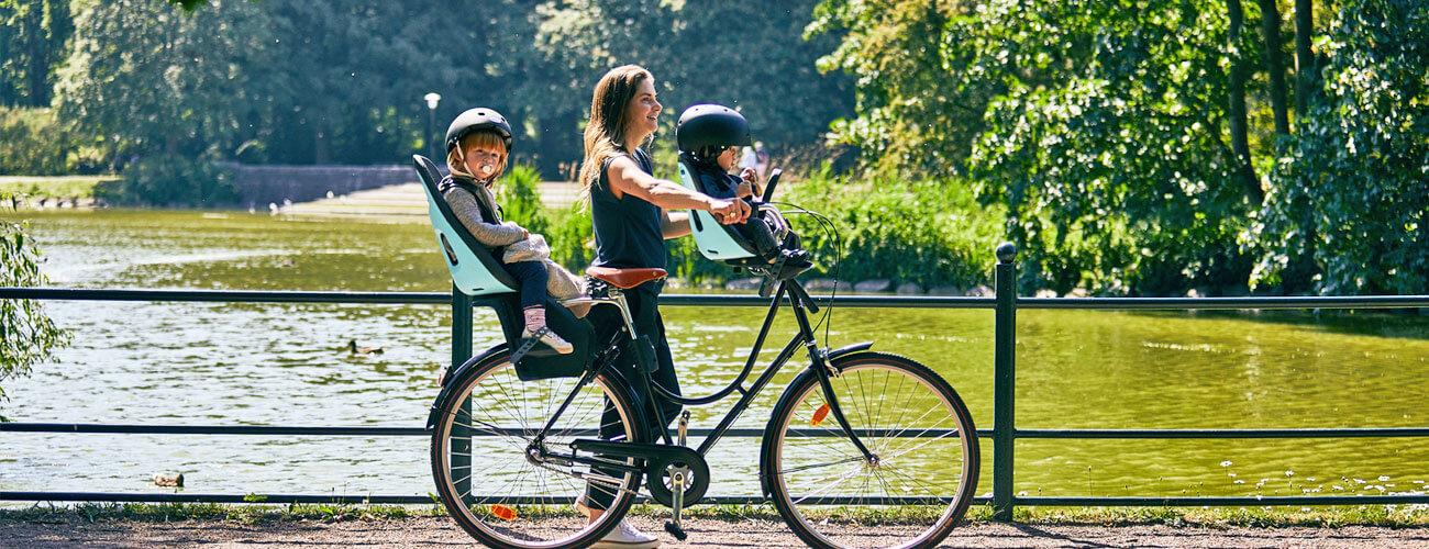 Fahrrad Kindersitz Montage