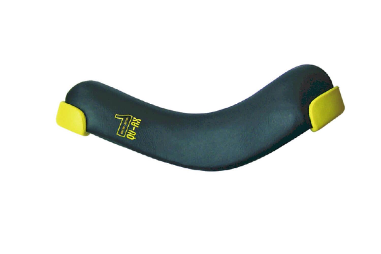 QU-AX Einradsattel QU-AX schwarz m. Schutzecken