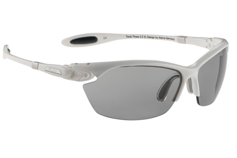 Alpina J5 Radsportbrille Alpina TWIST THREE 2.0 VL white