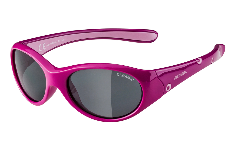 Alpina J5 Radsportbrille Alpina Flexxy Girl pink rose