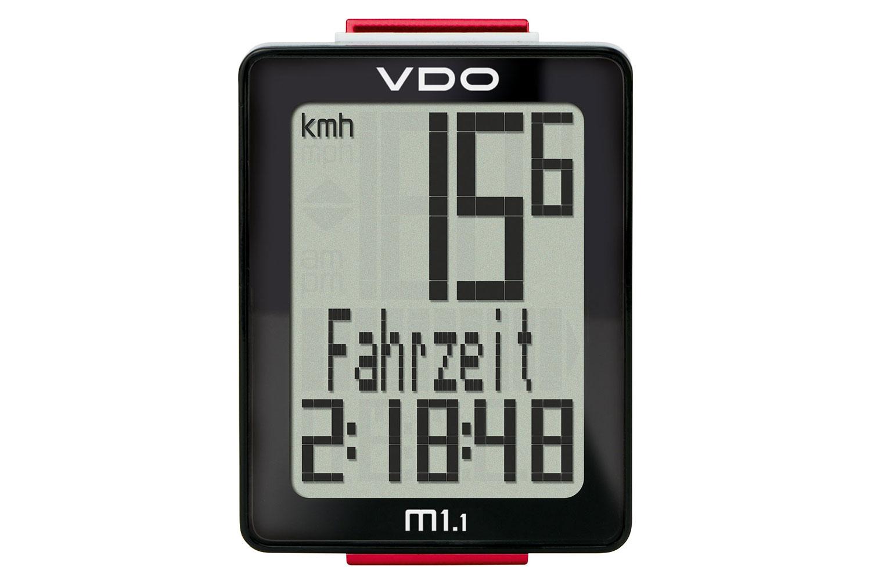 VDO M1.1 WR (Kabel) Fahrradtacho