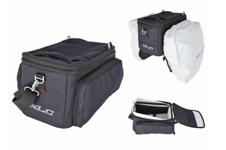 XLC Gepäckträgertasche BA-M01 für Carry More