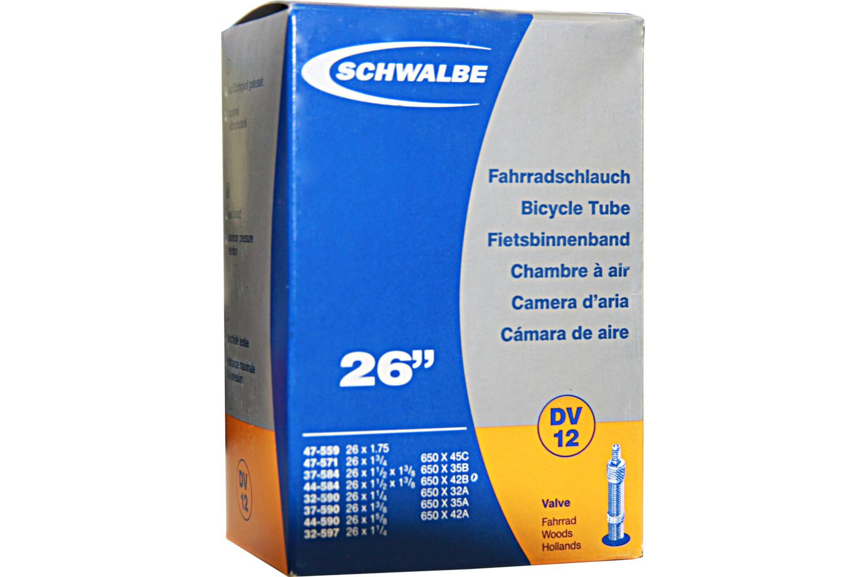 """Schwalbe Schlauch DV 12 26"""" Zoll"""