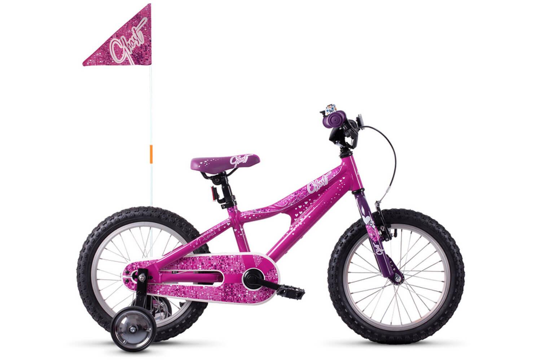 pink/violett/weiß