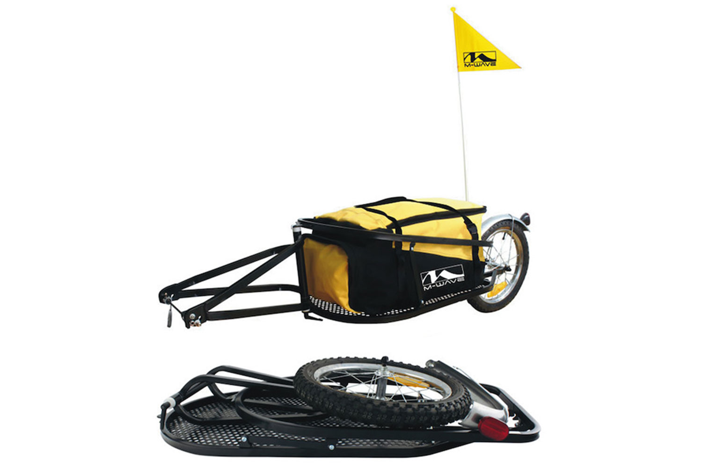 M-Wave Einspur Gepäck-Fahrradanhänger