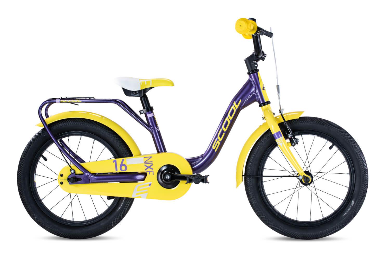 purple metallic/yellow