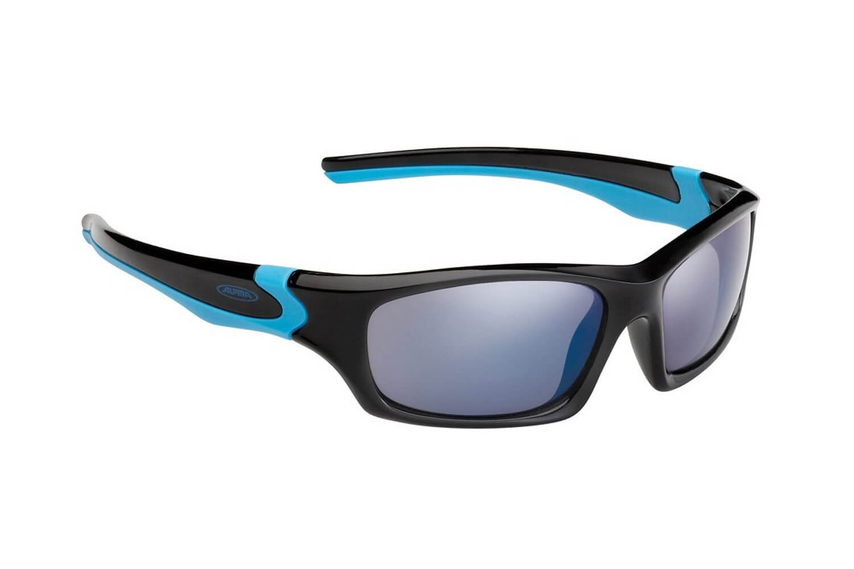 Alpina J5 Radsportbrille Alpina Flexxy Teen black-cyan